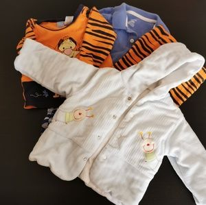 Baby boy bundle. Gift with purchase. 6-18 month